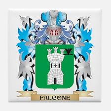 Cute Falcone Tile Coaster