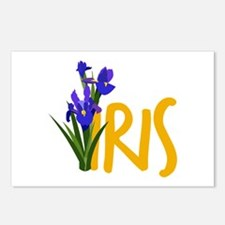Iris Postcards (Package of 8)