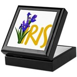 Iris Keepsake Boxes