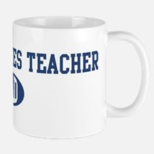 Peace Studies Teacher dad Mug