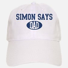 Simon Says dad Baseball Baseball Cap