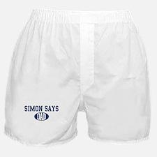 Simon Says dad Boxer Shorts