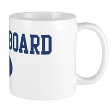 Shuffleboard dad Mug