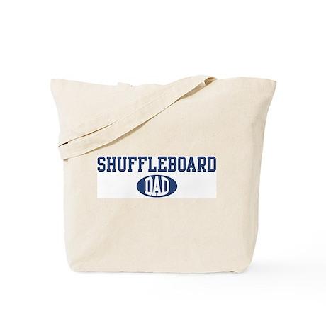 Shuffleboard dad Tote Bag