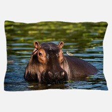 The Hippopotamus. Pillow Case