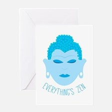 Everythings Zen Greeting Cards