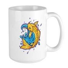 Golden Koi Mugs