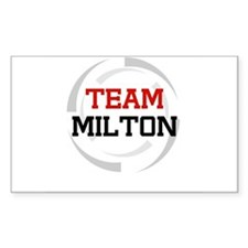 Milton Rectangle Decal