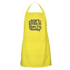 Reading Don't Bother Me Apron
