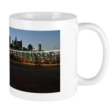 NYC skyline at Dusk Mug