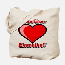 Beat Heart Disease Exercise Tote Bag