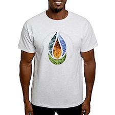 10x10ChaliceWordsDark T-Shirt