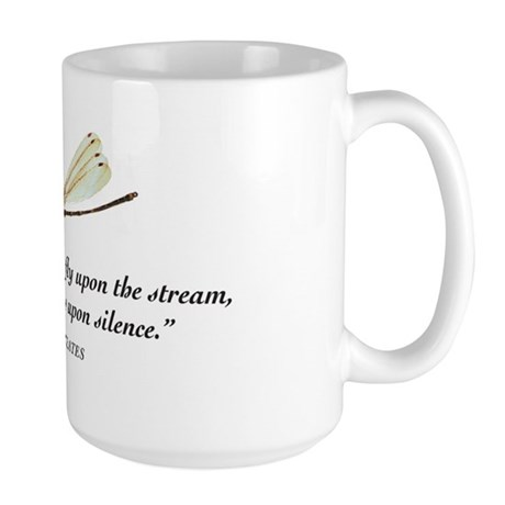 A fly upon the water Large Mug