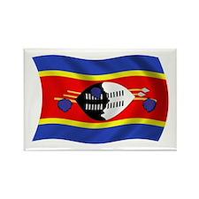 Swaziland Flag Rectangle Magnet (100 pack)