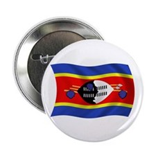 """Swaziland Flag 2.25"""" Button (100 pack)"""
