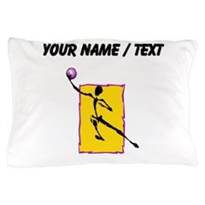 Custom Abstract Basketball Player Pillow Case