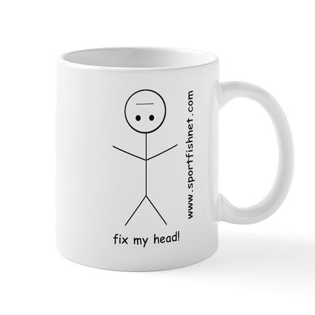 Fix My Head Mug!