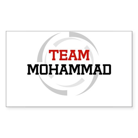 Mohammad Rectangle Sticker