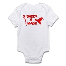 Daddy R Mage RED - Infant Bodysuit