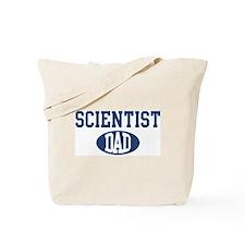 Scientist dad Tote Bag