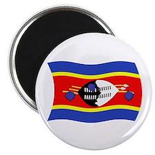 """Swaziland Flag 2 2.25"""" Magnet (100 pack)"""