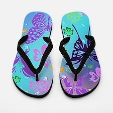 Cool Butterfly Flip Flops