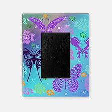 Cute Purple butterflies Picture Frame