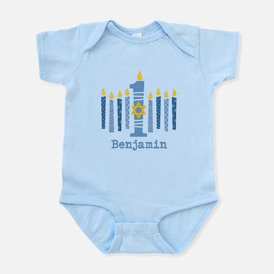 Hanukkah 1st Birthday Infant Bodysuit