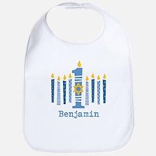 Hanukkah 1st Birthday Bib