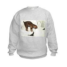Bobcat Art Kids Sweatshirt