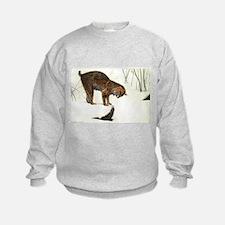 Bobcat Art Sweatshirt
