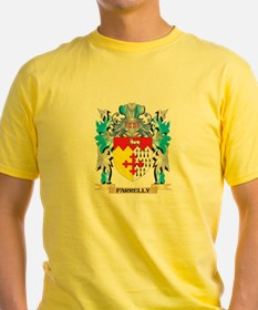 Farrelly Coat of Arms - Family Crest T-Shirt