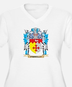Farrelly Coat of Arms - Family Crest Plus Size T-S