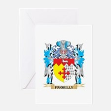 Farrelly Coat of Arms - Family Crest Greeting Card