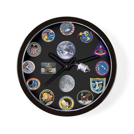 Project Apollo Wall Clock