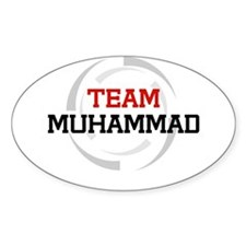 Muhammad Oval Decal