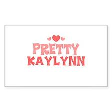 Kaylynn Rectangle Decal