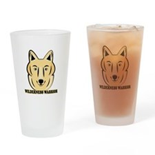 Wilderness Warrior Drinking Glass