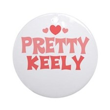 Keely Ornament (Round)
