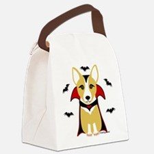 draculacorgi3i.png Canvas Lunch Bag