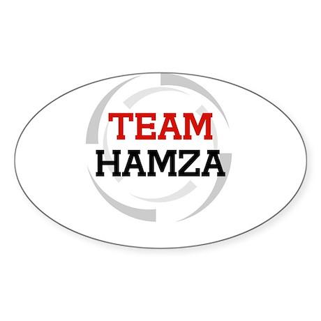Hamza Oval Sticker