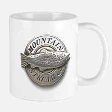 Pewter Mountain Stream Co log Mug