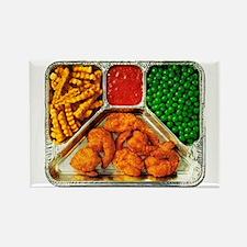 Shrimp Tv Dinner Refrigerator Magnets