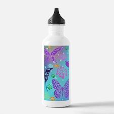 Cute Butterfly Sports Water Bottle