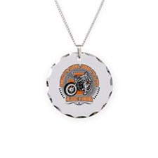 Cute Sobriety Necklace Circle Charm