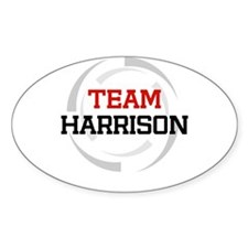 Harrison Oval Decal
