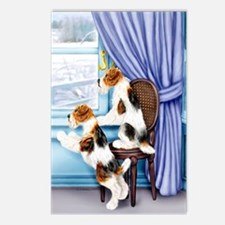 Wire Fox Terrier Parlor Pals Postcards (Package of