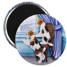 Wire Fox Terrier Parlor Pals Magnet