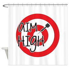 Aim High Shower Curtain