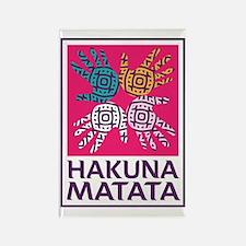 Hakuna Matata Rectangle Magnet